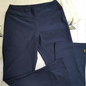 814650e24d4f2 Lucy Pants - Lucy tech navy blue yoga pants boot cut flare sm